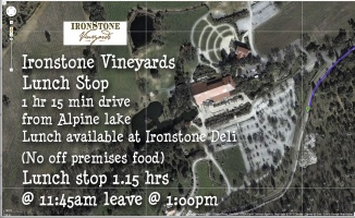 Ironside Vineyards & Lunch