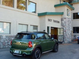 01 Sky Tavern with Bill Pearce Mini outside